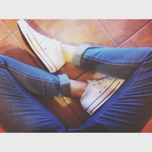Converse White ✌️