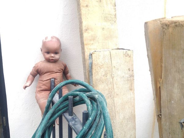 EyeEm Selects More random abandon poor dolly stuck on a wrought iron fence with a hose in South London outside a building site. Random IPhoneography Still Life Toy Street Photography Unnatural Beauty Street Life Natural Light Doll Dolly Abandoned Unusual Randomness Outdoors Rubbish Nopeople No People Street StillLifePhotography Day Natural Light Photography Sad Unnatural Outside