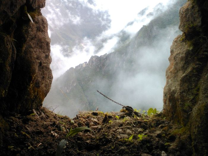 Macchu Picchu Beauty In Nature Nature Fog Outdoors Tourism History Day Sky The Great Outdoors - 2017 EyeEm Awards The Great Outdoors - 2017 EyeEm Awards