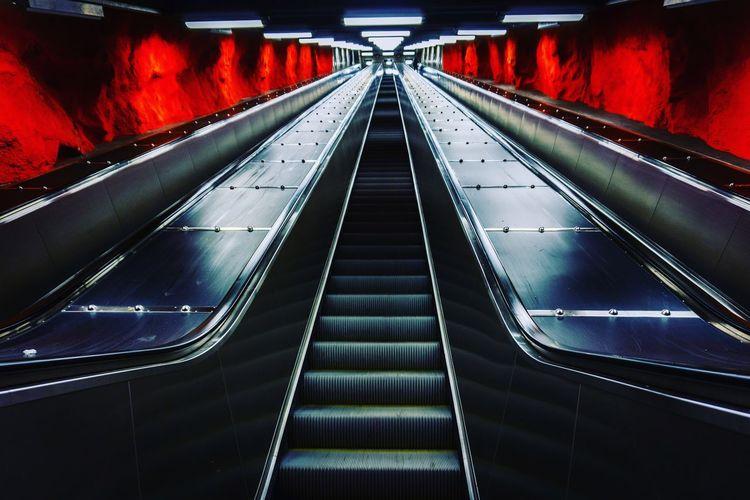 Stairs Subway