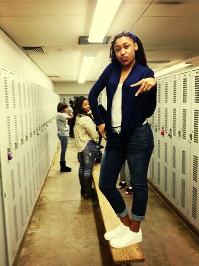 in Gym : )