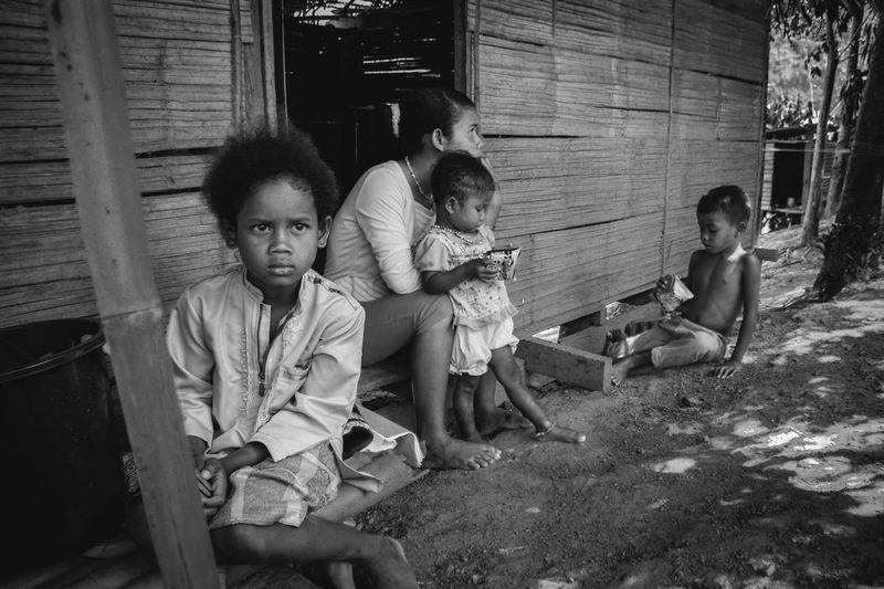Malaysia Orang Asli Indigenous  Aborigines ASIA Asian Culture Blackandwhite Diversity Human Leisure Activity Lifestyles Orang Asli Outdoors People Perak Person Poor  Portrait Royal Belum Semai Tradisional Village First Eyeem Photo