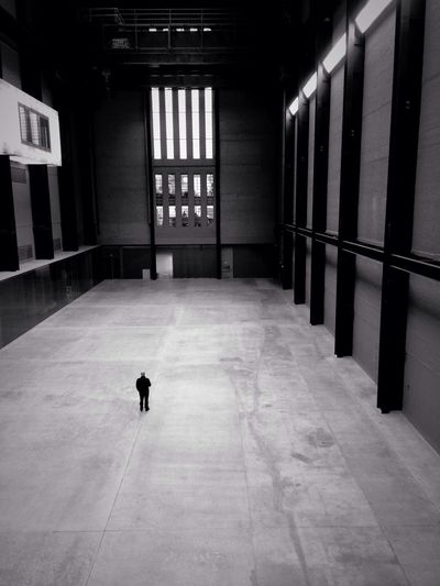 Tate modern Black And White Street Photography People