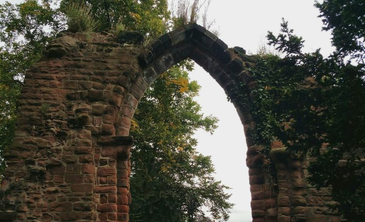 Learning from the Past , looking into the future. .. Architecture History Built Structure The Past Old Ruin Ruined Arch Abbey Trees September Chester Uk руины арка Развалины