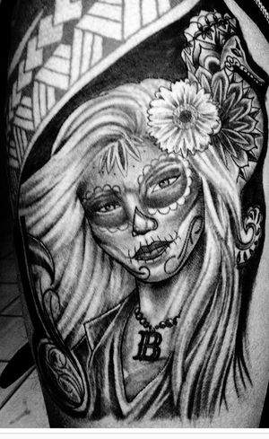 Catrina Catrina Day Of The Dead Catrinas Tattoo Lovetattoos Santamuerte Cavera Cs27 Art Tatouage
