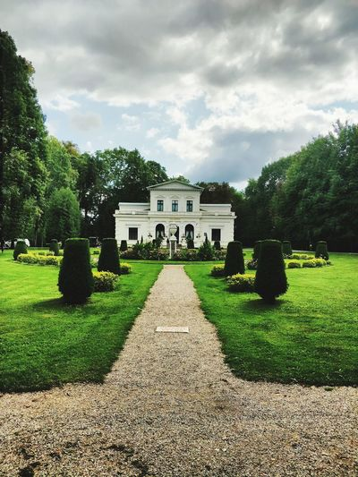 Manor Manor House Manor House Gardens Tree History Architecture Grass Building Exterior Sky Built Structure Cloud - Sky