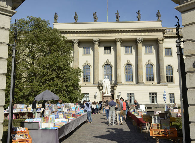 humboldt - university berlin Architecture Berlin Capital Cities  City City Life Day Famous Place History Humboldt Humboldt - Universität Humboldt University Berlin Large Group Of People Lifestyles Outdoors Tourism Tourist Travel Travel Destinations University