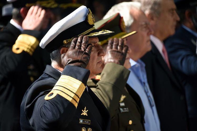 1982 Falkland Islands Malvinas Argentinas Saludo Uniform Argentina Guerra Militares Saludo Militar