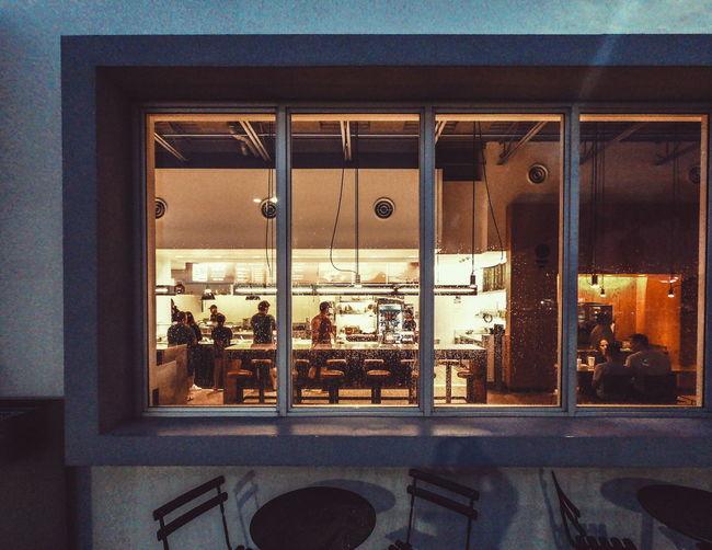 window Ricardobarbosa Uss Window Food Restaurant Night Cold Summer Summernight Dish Mexican Miami Florida Architecture Close-up Built Structure Metal Grate Closed The Street Photographer - 2018 EyeEm Awards HUAWEI Photo Award: After Dark