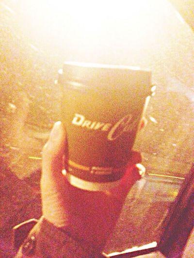 Ooh, coffee. Coffee