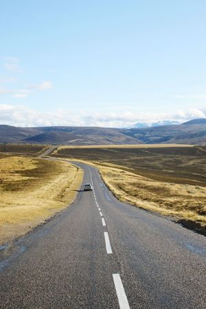 Scotland Travel Traveling Newworld Vacation Outdoors Endlessroads Endless Gofar New Nature Alone Highlands Hills Hillside Berge Uk Schottland Nevergiveup Landscape Sky Found On The Roll Feel The Journey The Drive