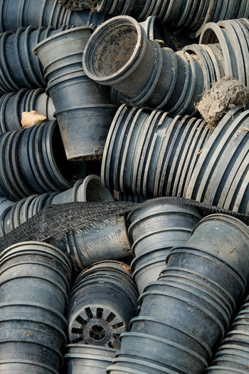 Abundance Arrangement Auto Repair Shop Backgrounds Close-up Day Full Frame Industry Large Group Of Objects Metal Industry No People Outdoors Repair Shop Rubber Stack Tire