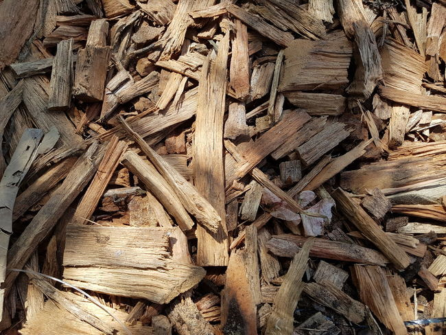 Close up wood stacks. Backgrounds Full Frame Close-up Rough Detail Textured  Wooden Plant Bark