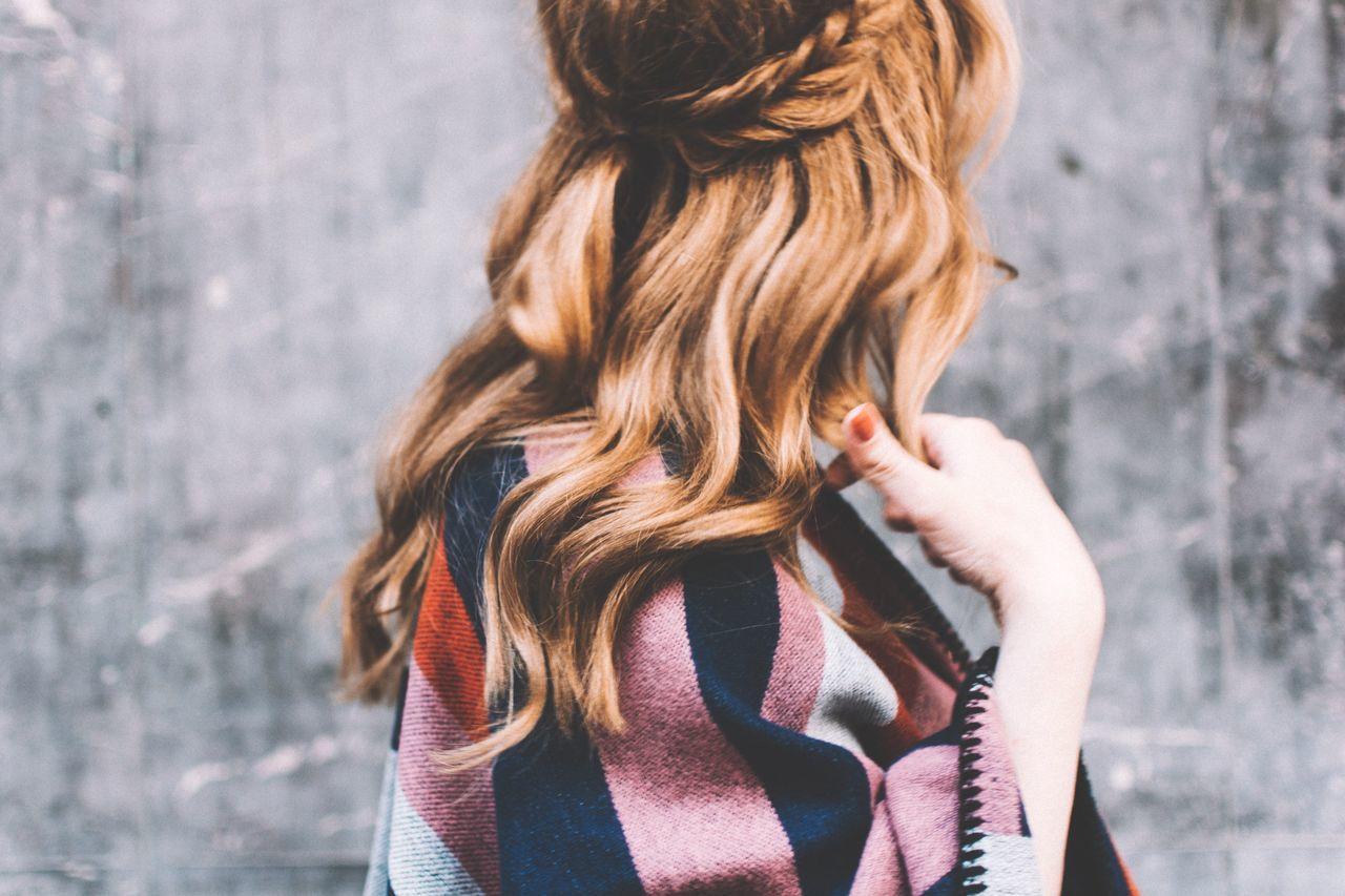 Blond Hair, Braided Hair, Curly Hair, Day, Fashion