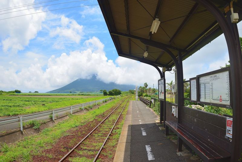 Cloud - Sky Day Landscape Nature No People Outdoors Public Transportation Railroad Track Scenics Sky Transportation