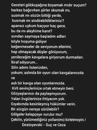 Itirafediyorum Hislerimetercüman Dostoyevski Suçveceza Türkiye Turkey