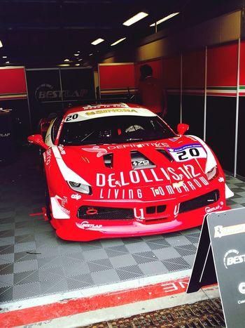 Red Redpassion Ferraripassion Ferrari Ferrari World Ferrarichallenge Car Race Racecar Racer Racetrack 20