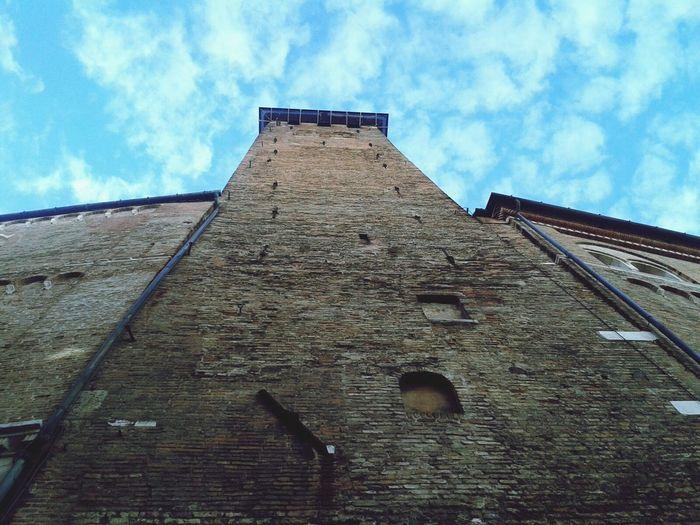City Of Padova Blue Sky And Soft Clouds