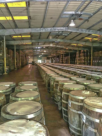 Warehouse Indoors  Agriculture Factory Business Industry Large Group Of Objects Archival No People Day Barrel Wooden Wooden Barrels Whiskey Barrels Drinks Containers Alcohol Wiskey Collection Handmade Made With Passion! Adult Drinks Storage Room Storage Buildings Storage Facility Wood Construction