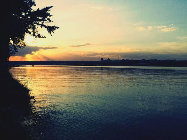 Brazil Sol Sun Sun_collection Sunset Pordosol Lake Natureza Yellow Orange