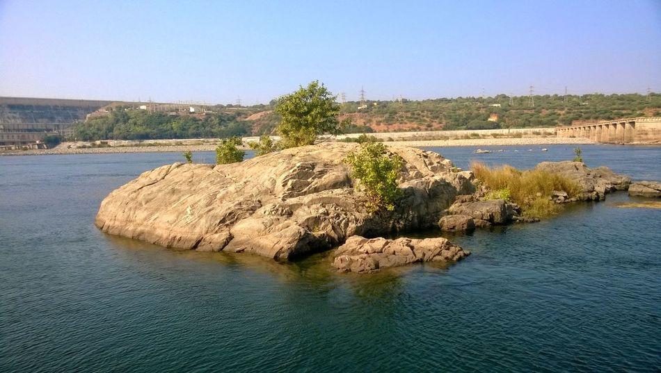 Nagarjunasagar River Krishna