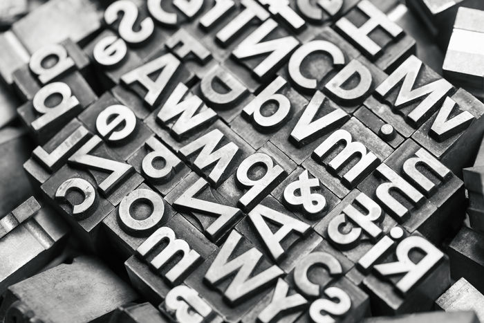 different lead letters Old-fashioned Press Printing Typography Typography & Design Alphabet Backgrounds Close-up Communication Full Frame High Angle View Indoors  Large Group Of Objects Lead Lead Letters Letter Magazine Newspaper No People Old-fashioned Orthographic Symbol Printing Press Retro Styled Selective Focus Text