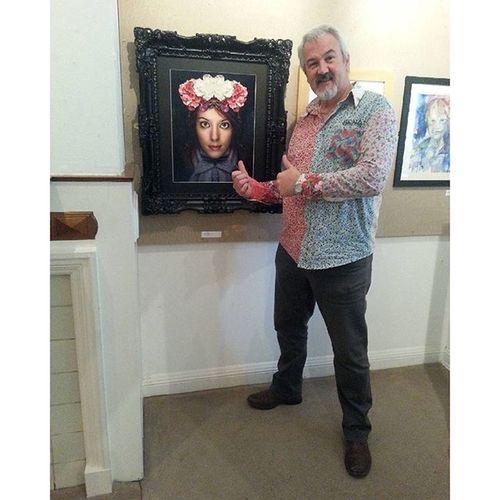 Fourtwographs John Bentley and @lara_sawrusrex on display at the Haworth Artgallery