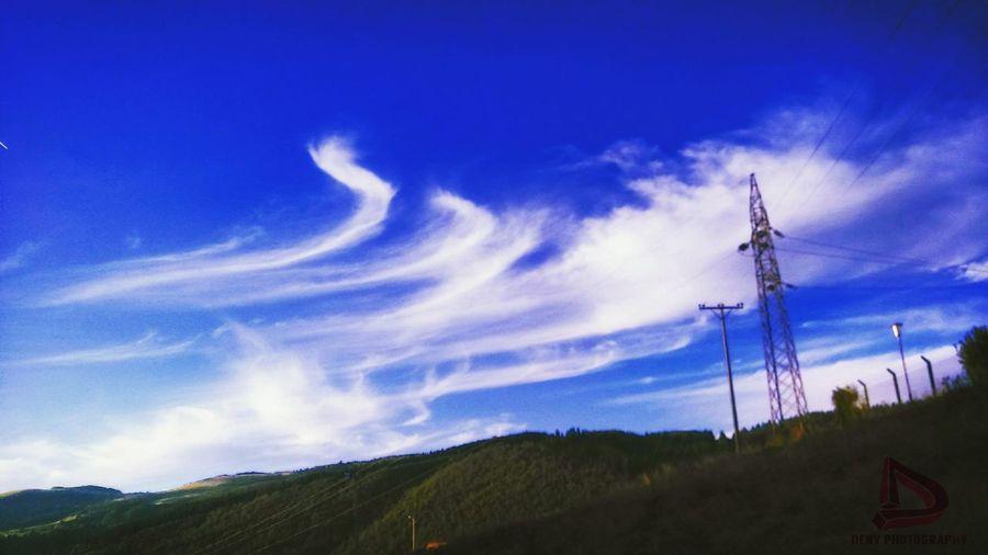 Sunny day Sky Cloud Sun Blue Great
