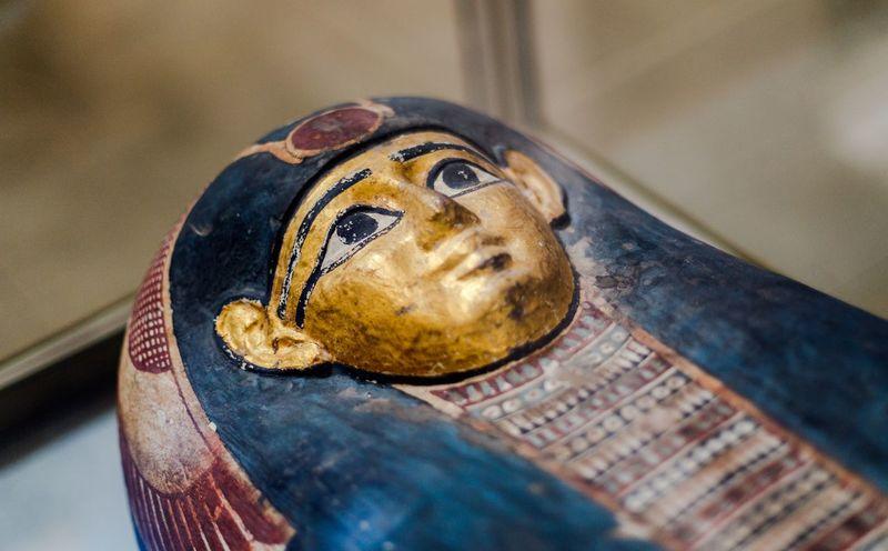 Close-up Day Egypt Egypt Cairo Egyptian Egyptian Museum Egyptian Statue Egyptology Focus On Foreground Golden Historical Mummy No People Pharahos Pharahos Statue Selective Focus égypte