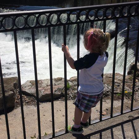Colorful Hair Princess at the Waterfall... Streamzoofamily