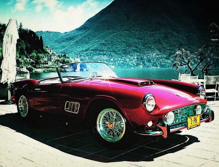 Ferrari In Como, Italy