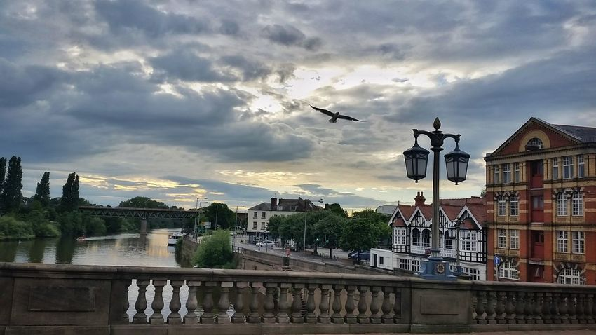 'Old Rectifying House' Experimental (for commission work) WorcesterBridge River Severn Hop StoreWarehouse Historical Building Water Reflections Evening Sky Eye4photography  Striving For Excellence Exceptional Photographs EyeEm Gallery Tadaa Community Street Lamp Lamps Seagull England 🌹 My Cloud Obsession☁️