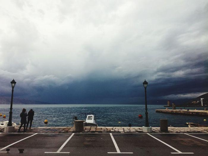 croatia Croatia Water Cloud - Sky Outdoors Sea Sky Day No People Nature