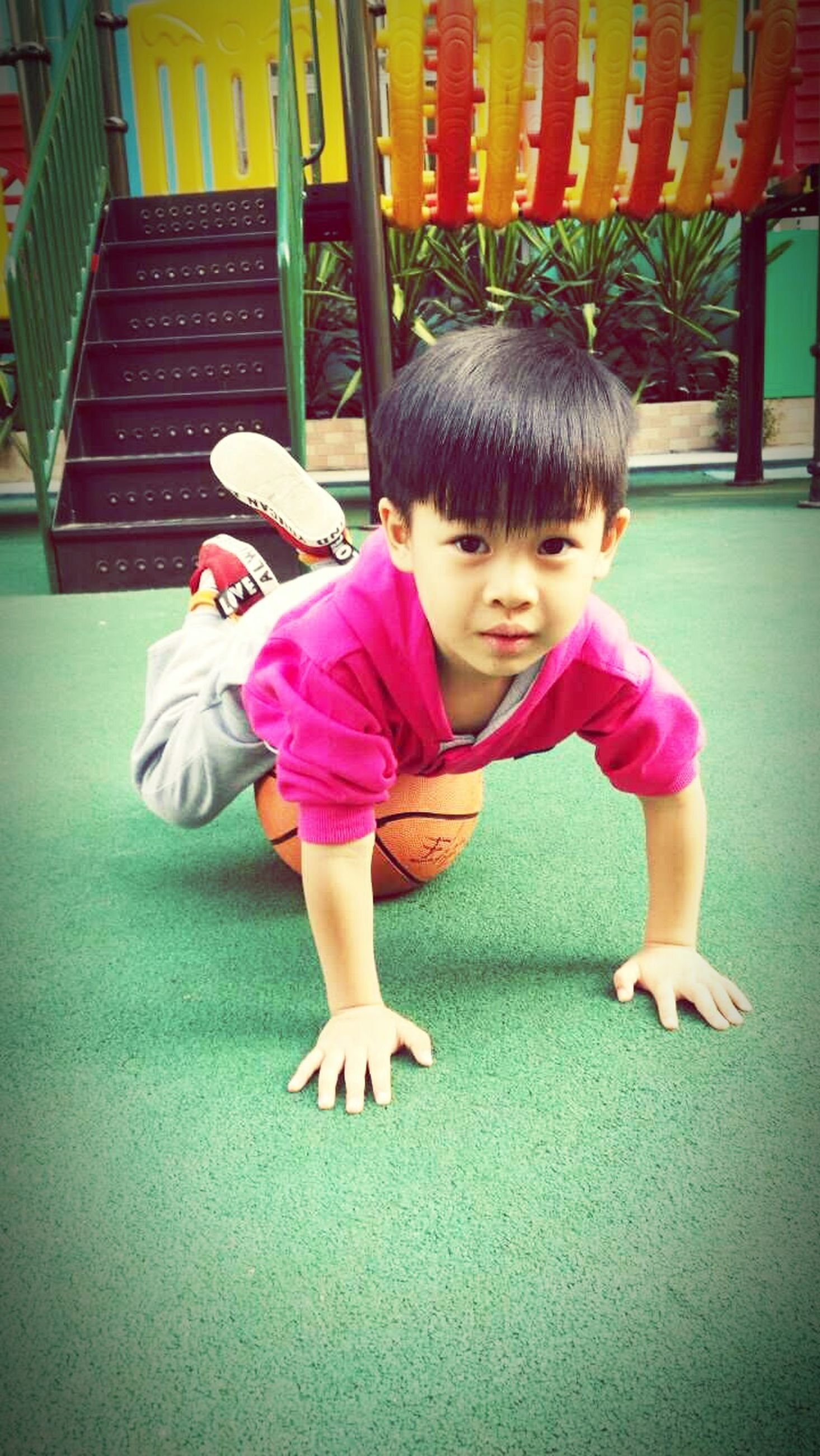 childhood, elementary age, girls, full length, innocence, person, cute, boys, lifestyles, casual clothing, leisure activity, playing, preschool age, playful, togetherness, fun, playground, family