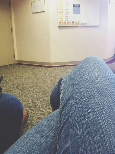 waiting is lame Doctors Office Doctor  Doctors Legs