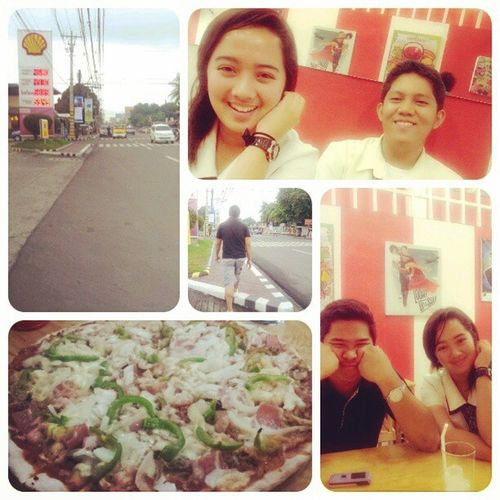 date with my boooyfriends ♥ Munste Dermv Nagpacaleasirado NagpaLILLYSPIZZA :)