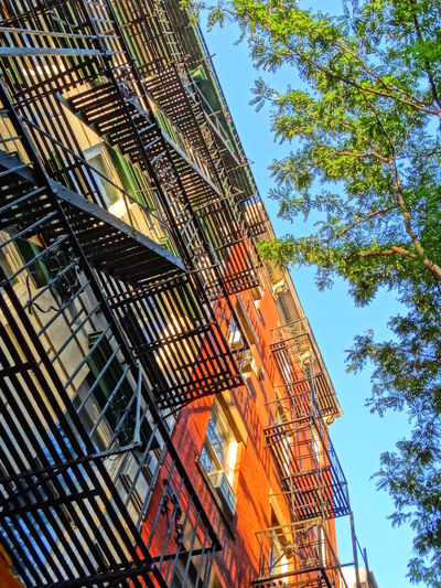 Architecture Building Exterior Built Structure City Citytip Clear Sky Construction Houses Low Angle View New York City New York ❤ No People Staircase Urban Geometry Urbanphotography Urban Lifestyle Cast Iron Building Cast Iron The Street Photographer - 2017 EyeEm Awards