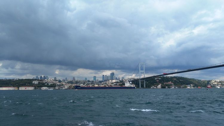 İstanbul Cloud - Sky Business Finance And Industry Storm Cloud Cityscape Outdoors City Nautical Vessel No People Day Sky Türkiye Turkey Istanbul Bogazkoprusu