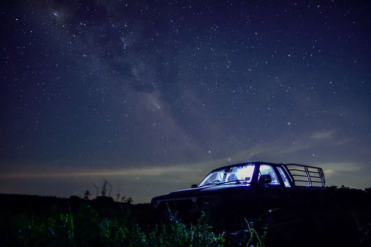 Sky background and stars at night Milkyway Astronomy Beauty In Nature Constellation Galaxy Land Majestic Milky Way Mode Of Transportation Nature Night No People Scenics - Nature Sky Space Star Star - Space Star Field Tranquil Scene Tranquility Transportation