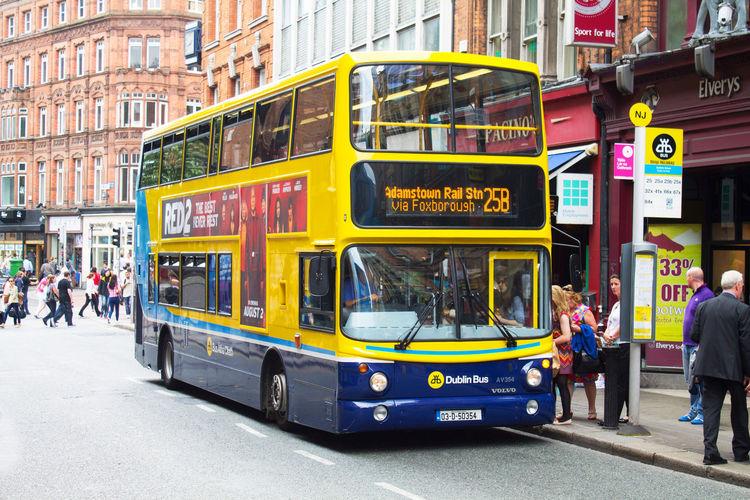 Autobus Autobus De Dos Pisos Autobuses Urbanos Bus City City Bus Double Decker Bus Dublin Ireland Irland Irlanda Public Transportation Stadtbus Traffic Transport Transportation Transporte Tráfico Verkehr On The Way Mobility In Mega Cities