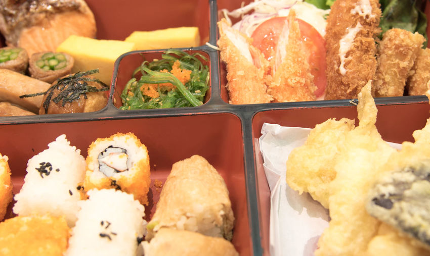 Close-up of food in container