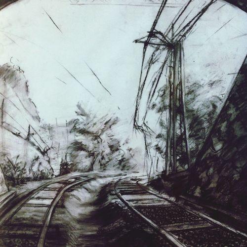 Sketch Drawing Train