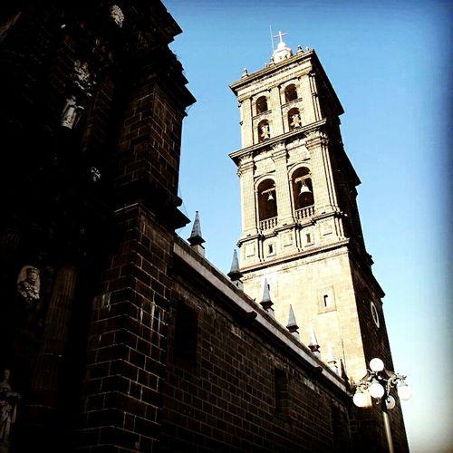 Catedral Puebla First Eyeem Photo Luz Y Sombra