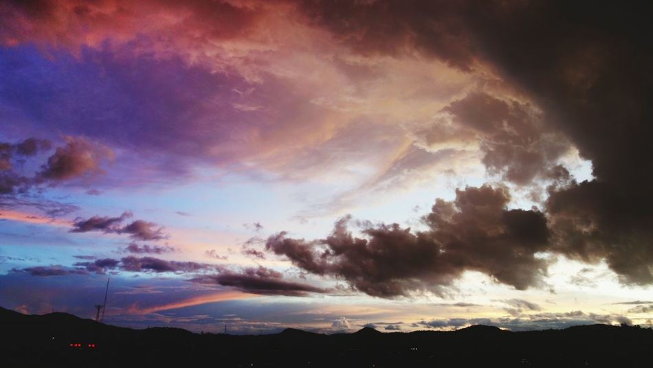 Dramatic Sky Cloud - Sky Mountain Sunset Nature Landscape No People Outdoors Thunderstorm Beauty In Nature Sky Space Day EyeEmNewHere The Week On EyeEm