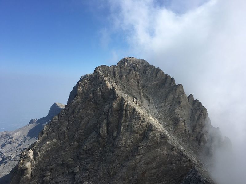 Top of the mountain olympos