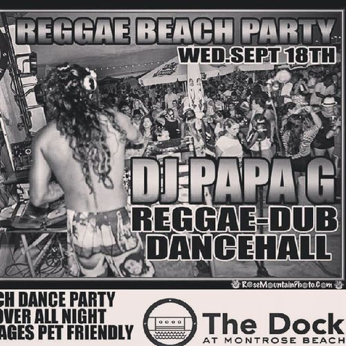 Reggae Beach Party at Montrose tonight... Somefeeltherainothersgetwet Catchthevibes Thisischicago Djpapag jammin thedock Montrosebeach