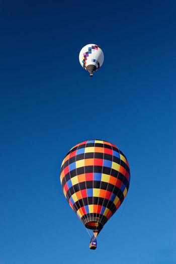 Teo hot air balloons