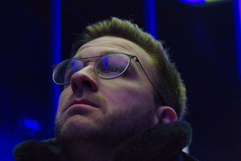 Headshot Glasses Portrait One Person Leisure Activity Real People Men Close-up Young Men Young Adult Night Beard Lifestyles Looking Focus On Foreground Front View Looking Away Eyeglasses  Human Face Contemplation Warm Clothing Streetphotography Underground Underground Station  17.62° The Art Of Street Photography