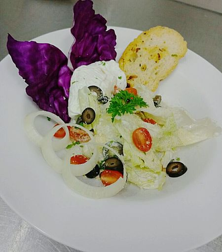 Caesarsalad Pouched Egg
