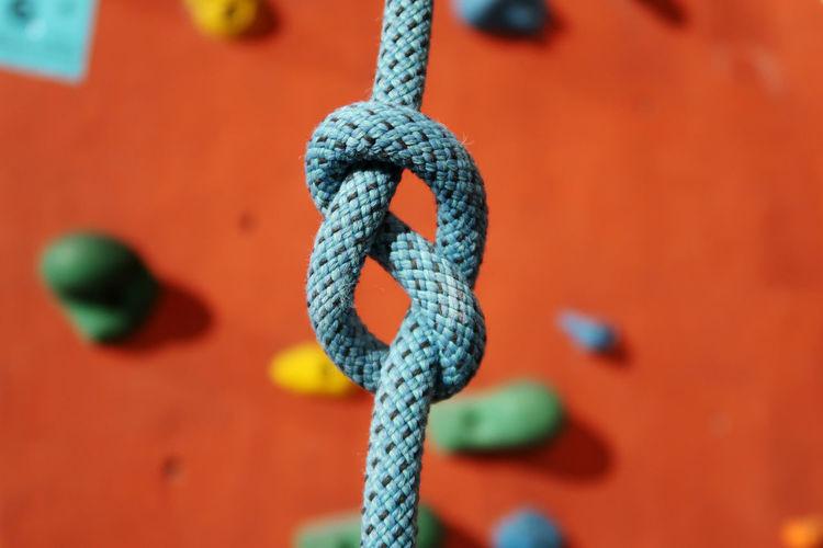 Close-up of climbing wall